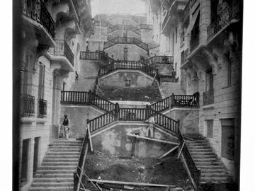 Escalier Bondu à Alger