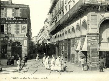 Entrée sud de la rue Bab-Azoun