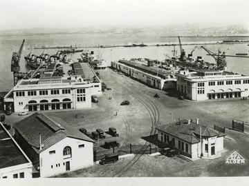 La gare maritime. Terminal 1