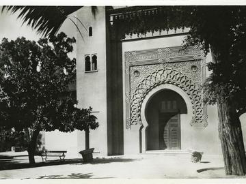 Nouvelle porte du Musée des antiquités algériennes