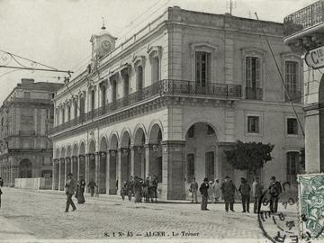 L'immeuble du Trésor et des postes