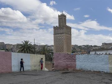 Minaret de la mosquée Imam el-Houari