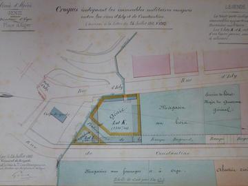 Plan d'alignement du quartier Bab-Azoun