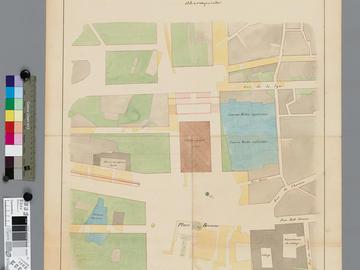 Plan d'alignement de la place Bresson et des rues adjacentes
