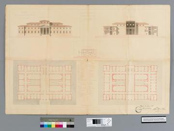 Esquisse d'un projet de palais de justice pour Alger