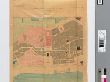Projet de palais de justice pour la ville d'Alger