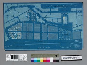 Plan du nouveau quartier Bab-Azoun à Alger