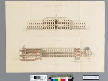 Avant-projet de lycée impérial pour Alger