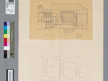 Projet de construction d'un théâtre pour la ville d'Alger