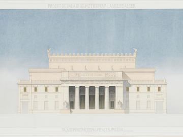 Projet pour un palais de justice à Alger