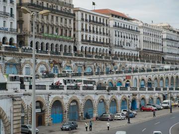 Alger, front de mer