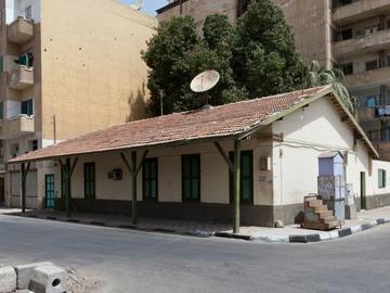 Maison à portique