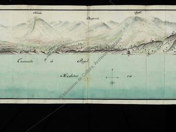 Alger vue depuis la mer en 1749
