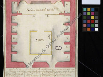 Plan de l'église majeure d'Oran