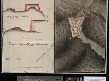 Plan du château de San Gregorio