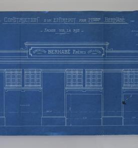 Construction d'un entrepôt pour Messieurs Bernabé