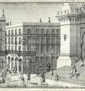 Immeuble Scala et ancienne cathédrale