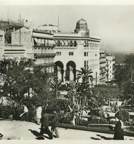 Le square Laferrière dans les années 1930