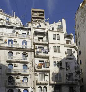 Immeubles du quartier de l'Oriental