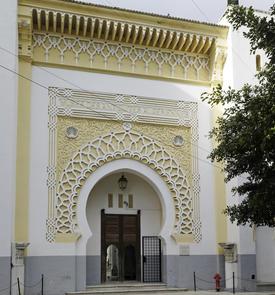 Porte du Musée des antiquités algériennes