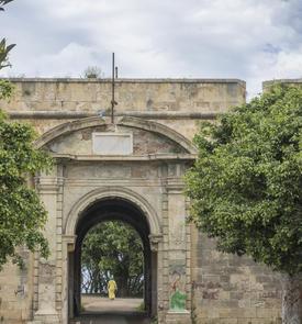 Porte principale de la forteresse de Rosalcazar