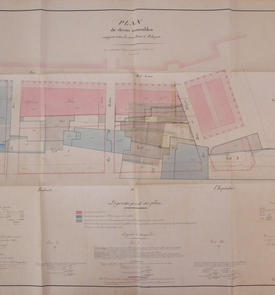 plan d'alignement de la rue Bab-Azoun