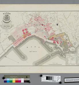 Plan du port d'Alger