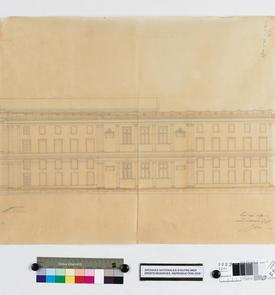 Palais de justice, façade latérale
