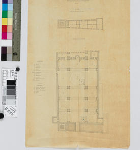 Plan de la mosquée de la Pêcherie