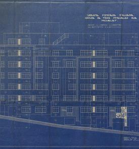 Groupe de trois immeubles rue Michelet