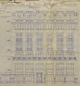 """Immeuble de rapport dit """"Groupe Baudin"""""""