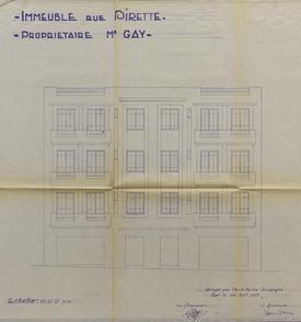 Immeuble de rapport  de M. Gay