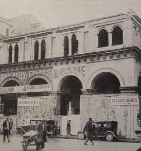 Ancienne annexe de l'archevêché et bureau de poste