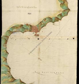 Plan d'Alger, ville et côte